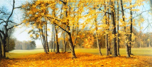 Polish Autumn | 93 x 42 cm