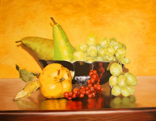 Still Life with Quince | 50 x 60 cm