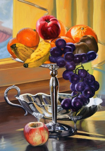 Still Life with Fruits | 70 x 50 cm
