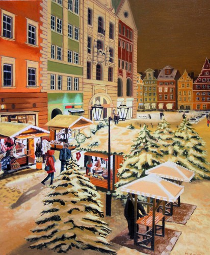 Christmas Fair | 60 x 50 cm