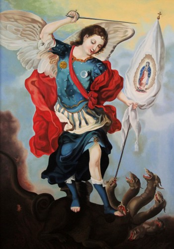 Archangel Michael (copy) |  100 x 70 cm